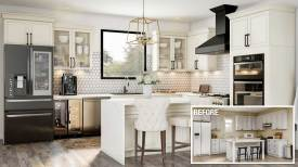 remodel of kitchen photo